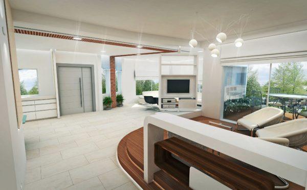 עיצוב בית פרטי, במושב אביגדור