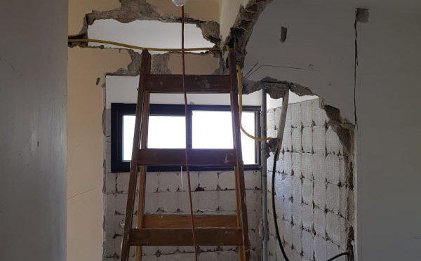 ירון בן גרא - בית פרטי בהרצליה שעבר מהפך - דירה לפני שיפוץ