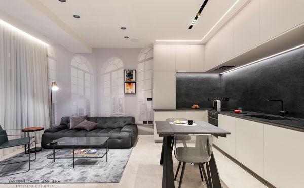 Yaron Ben Gera - A 47 sq.m. Apartment, Tel Aviv