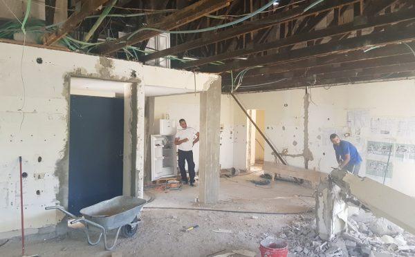 ירון בן גרא - בית פרטי בעומר - קונספט מודרני חם - לפני שיפוץ